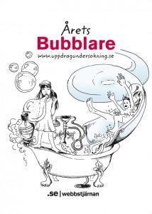 Bubblare webbstjärnan cc by Linda Svanberg