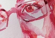 Självporträtt i rött