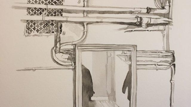 Spegel spegel på väggen där
